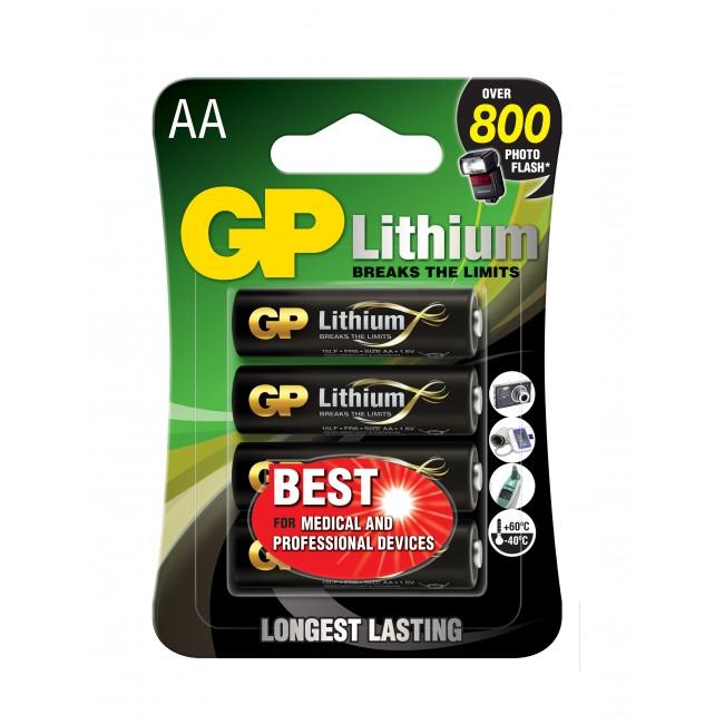 GP Lithium AA-paristot, 15LF, 4-p Image