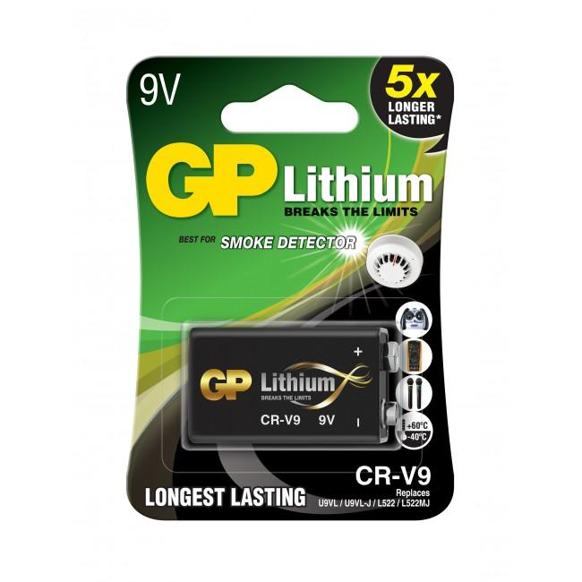 GP Lithium 9V -paristo Image