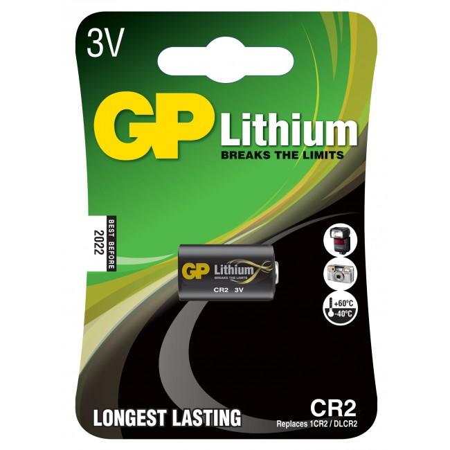 GP 3 V Litium Pro paristo CR2 Image
