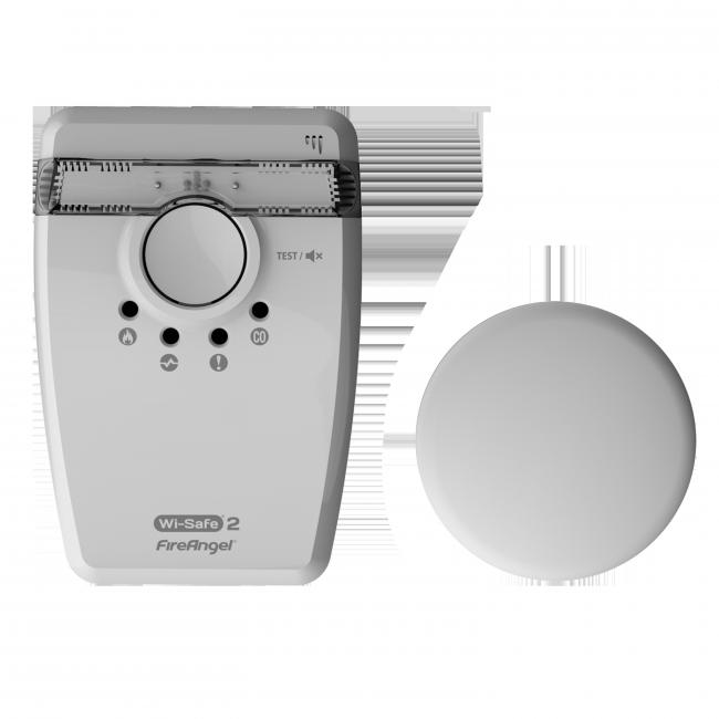 Fireangel WI-SAFE2 vilkku & värinälevy, W2-SVP-630 sarjaankytkettävä Image