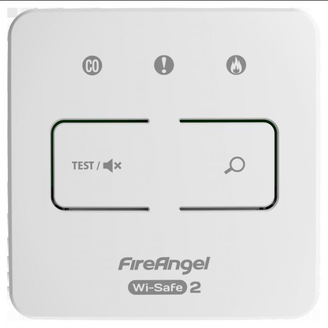 Fireangel WI-SAFE2 kontrollipaneeli testi pause, WTSL-F sarjaankytkettävä Image