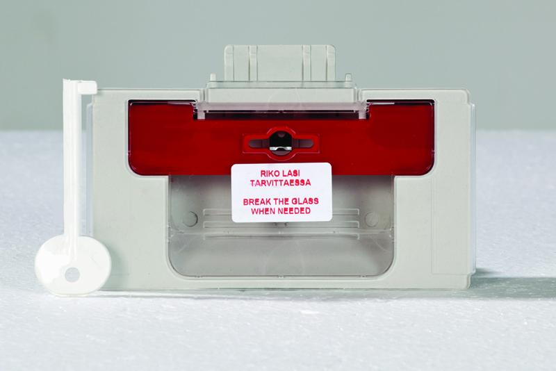 Palopostikaapin lukko Image